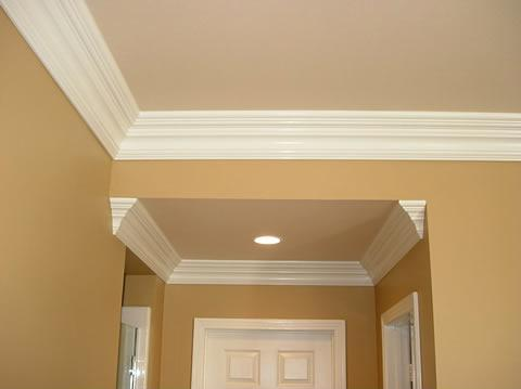 Crown Molding Around Ceiling